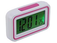 Фото Говорящие настольные часы KK-9905TR Розовые