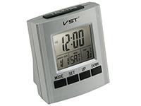 Фото Говорящие часы VST-7027 серые