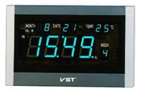 Фото Говорящие настенные часы VST 771 T-5 (синий LED)