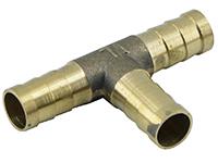 Фото Латунный двойник для газового шланга