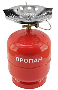 Фото Комплект газовый кемпинговый 8 л. Intertool GS-0008