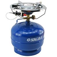 Фото Комплект газовый кемпинг Sigma Comfort 5л с пьезоподжигом
