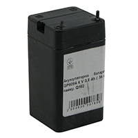 Фото Акумуляторна батарея Merlion GP609A 6 V 0,8 Ah