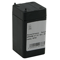 Фото Акумуляторна батарея Merlion GP609B 6 V 0,7 Ah