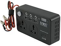 Фото Перетворювач напруги UKC 200W LCD 3USB