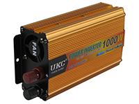 Фото Перетворювач напруги UKC SSK-1000W з 12В на 220В золотистий