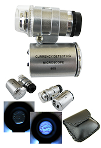 Фото Микроскоп с подсветкой Magnifier MG9882 60x