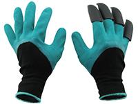 Фото Перчатки с когтями для сада Garden Glove
