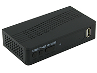 Фото ТВ ресивер тюнер DVB-T2 UKC 0967 з підтримкою wi-fi адаптера