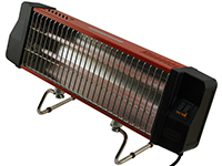 Фото Инфракрасный электрообогреватель камин Элна 1,2 кВт
