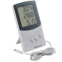 Фото Электронный термометр с гигрометром TA-318