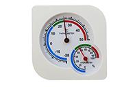 Фото Термометр с гигрометром механический TH109
