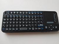Фото Беспроводная мини-клавиатура с тачпадом