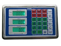 Фото Металевий блок управління для ваг A-Plus SC-1660
