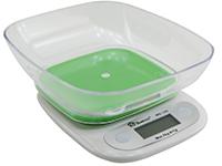 Фото Кухонные весы Domotec MS-125 зеленая платформа