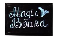 Фото Рекламная доска Magic Board с цветной LED подсветкой