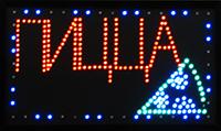 Фото Светодиодная LED вывеска табло Пицца